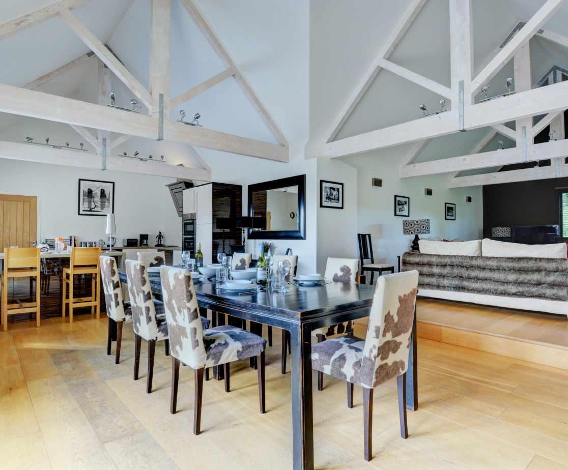 Taylors Barn - Open Plan Living Room
