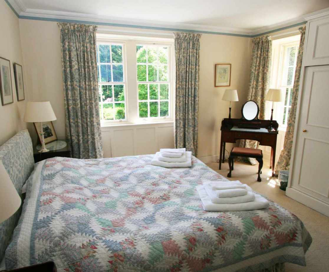 Room 1 is a king size double room with front view