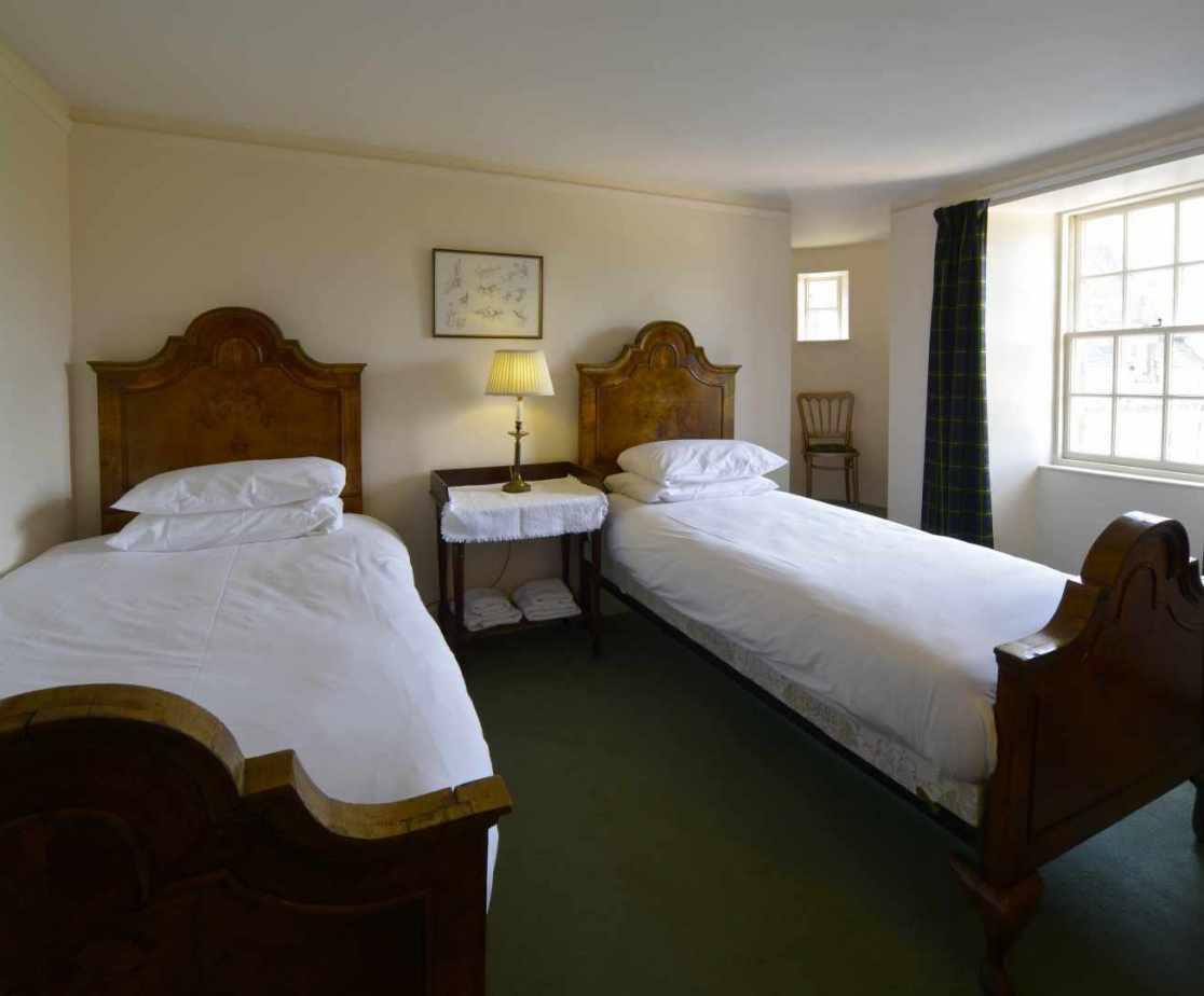 \'Gourdas\' twin bedroom on the third floor