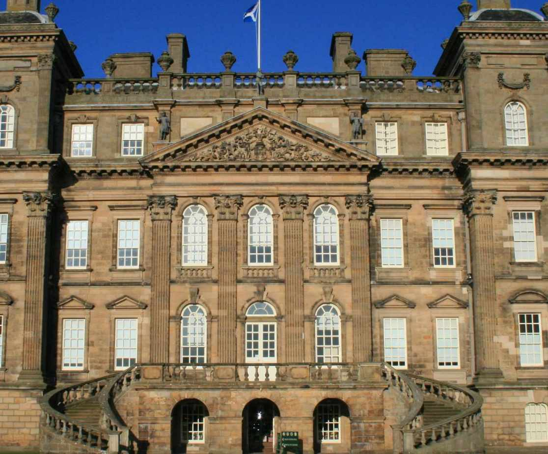 Explore the house and grounds at Duff House in Banff
