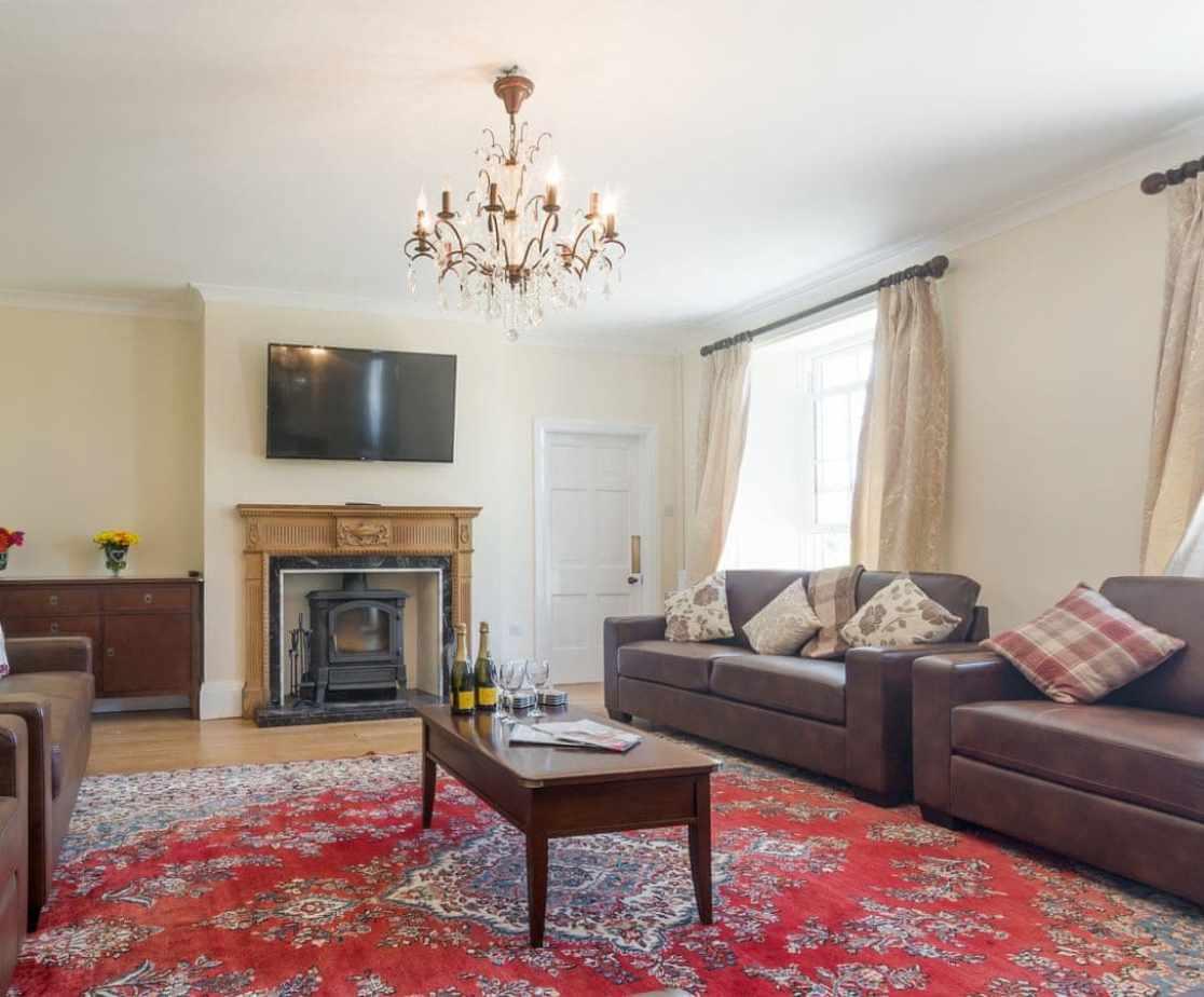 Welcoming living room