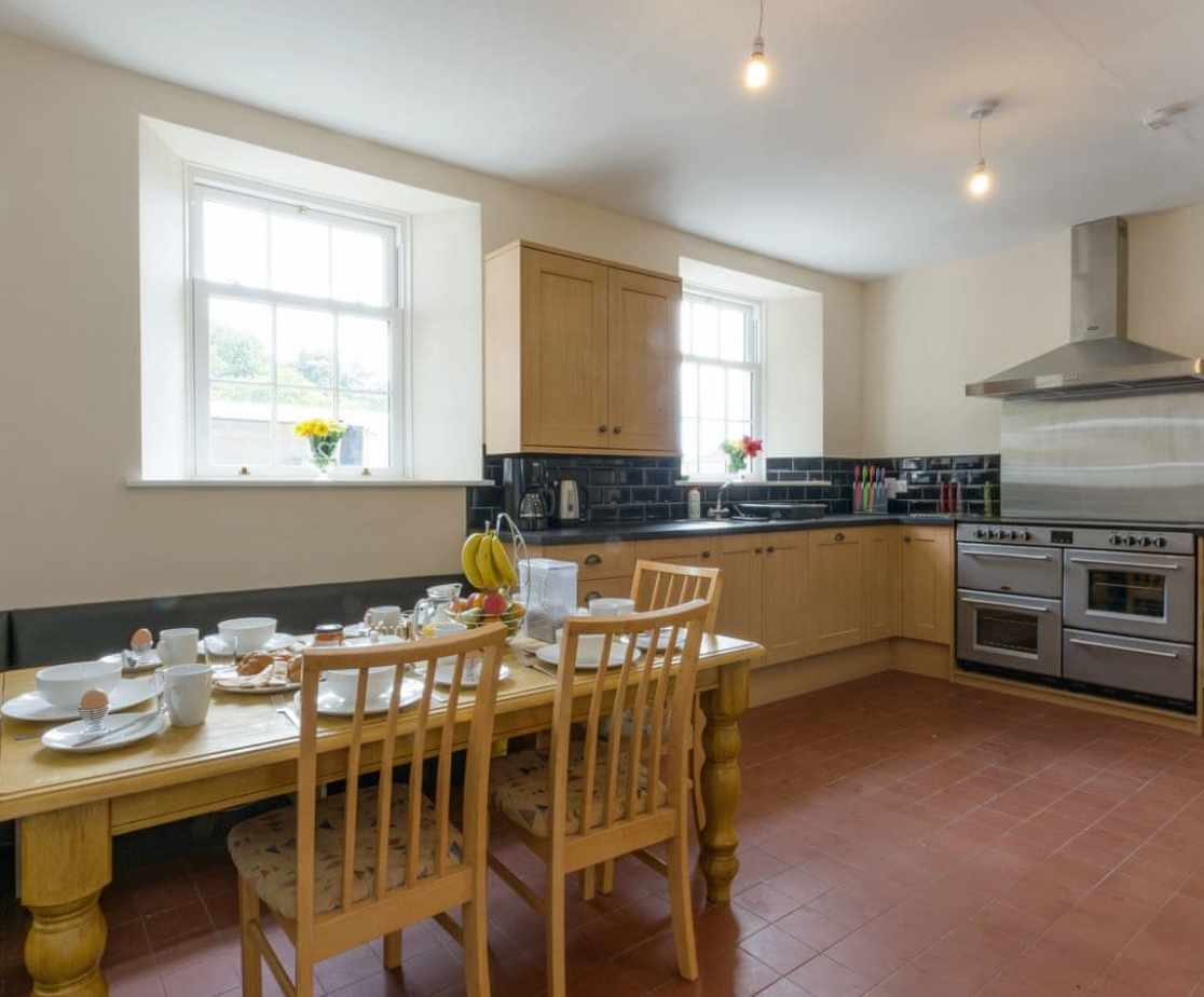 Convenient dining area within kitchen