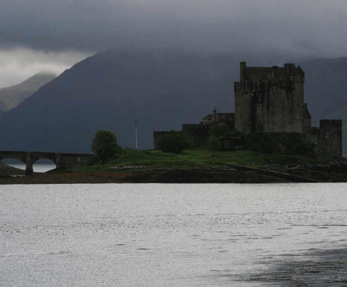 A classic view of Eilean Donan Castle