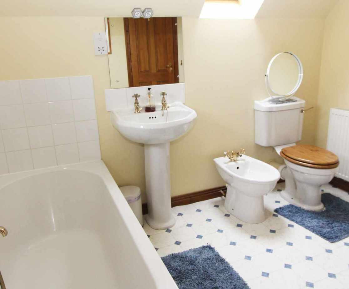 The en-suite bathroom to room 2