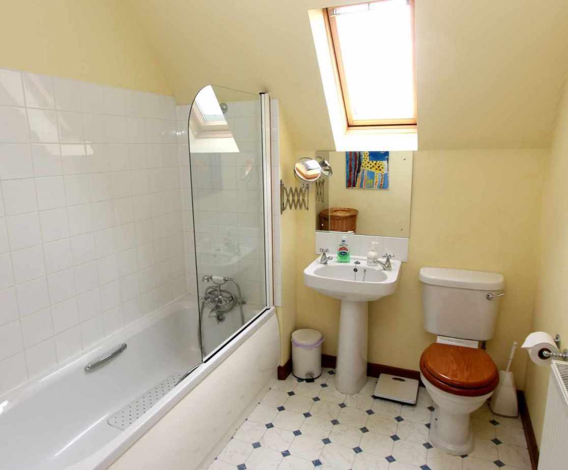 Shared bathroom on first floor