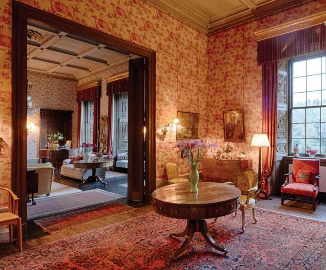 Stunning reception rooms