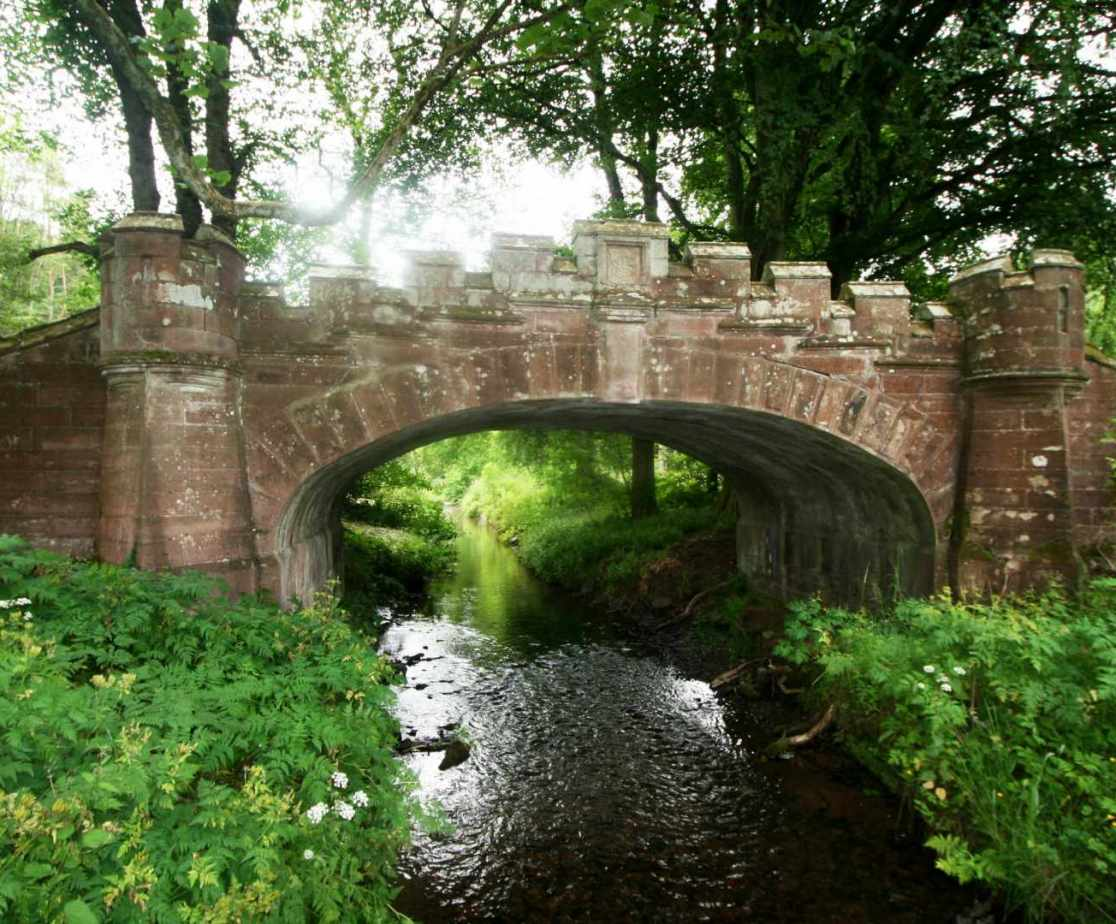 This bridge to the castle is known as \'Lover\'s bridge\'