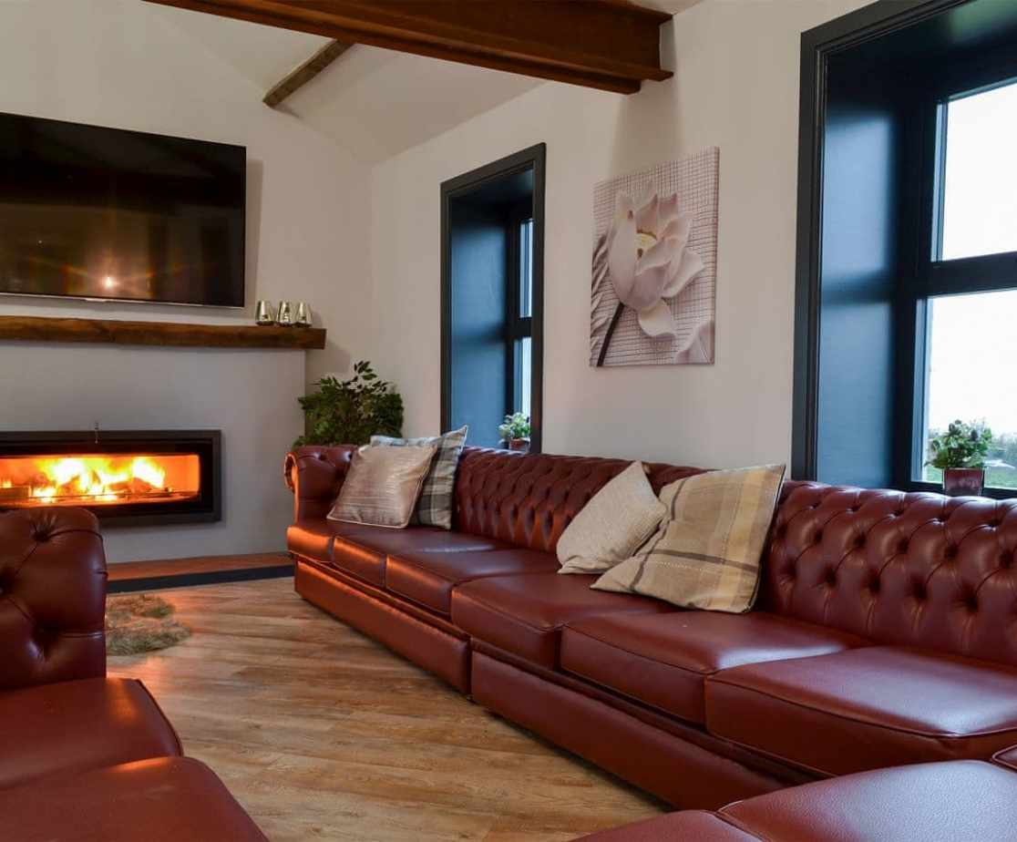 Delightful living area