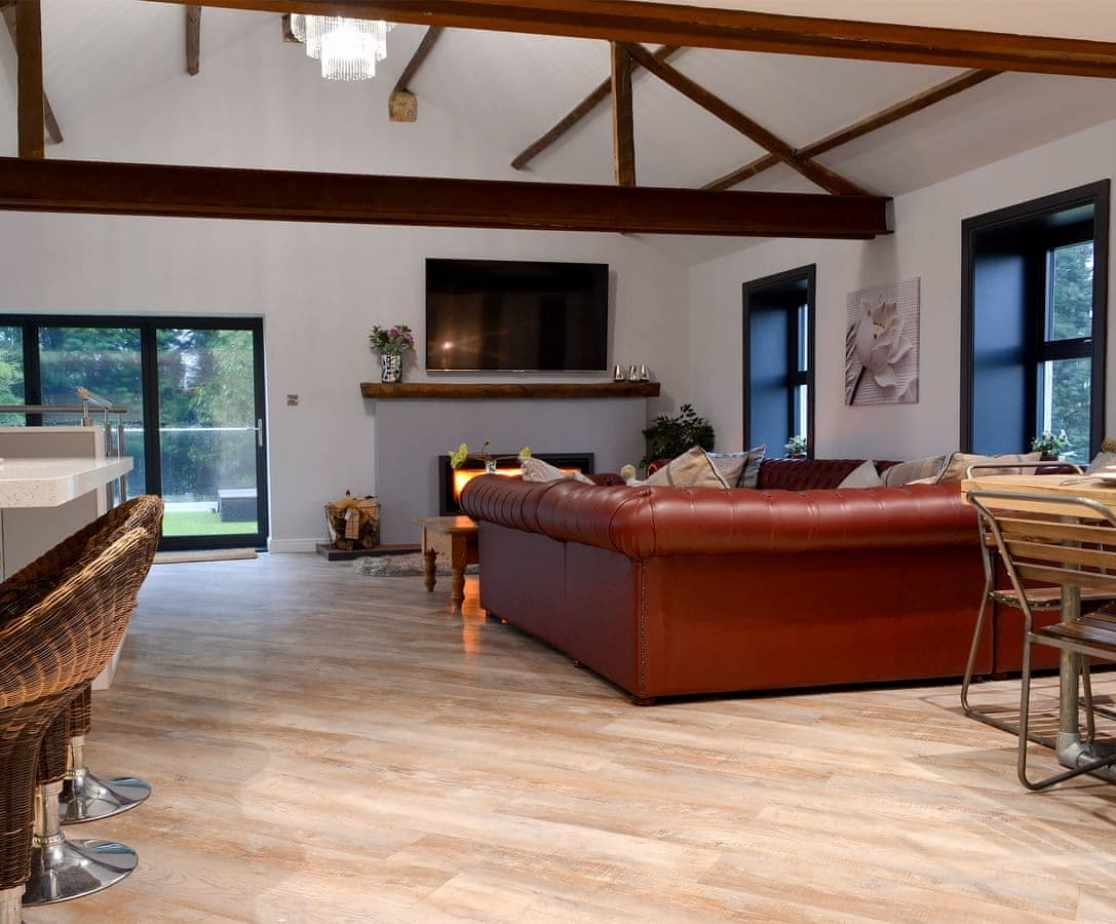 Stunning open plan living space