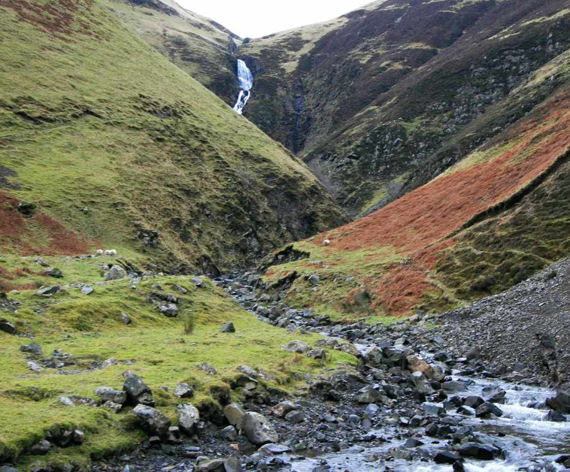 \'Grey Mare\'s Tail\' is the fifth highest waterfall in the UK