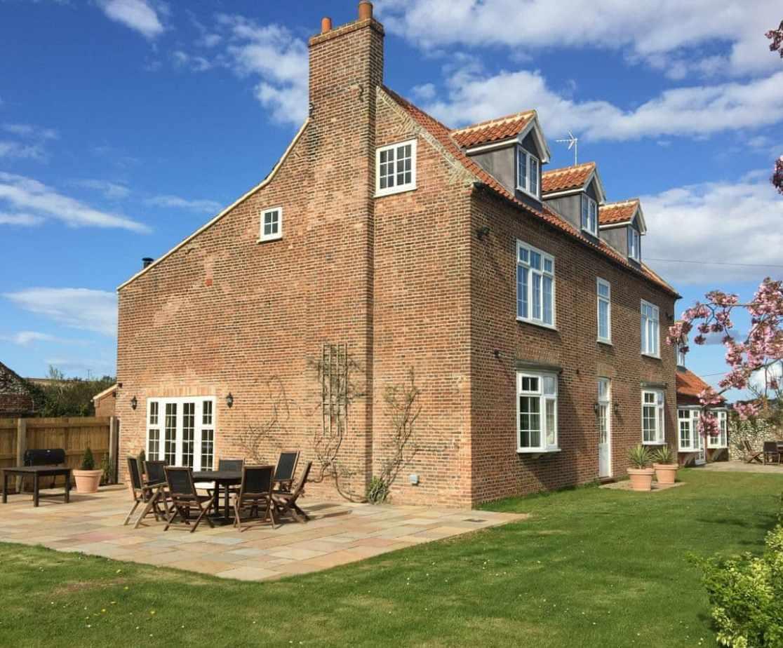 Impressive renovated farmhouse