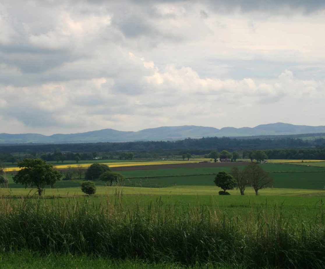 Plenty of beautiful countryside in and around Perthshire
