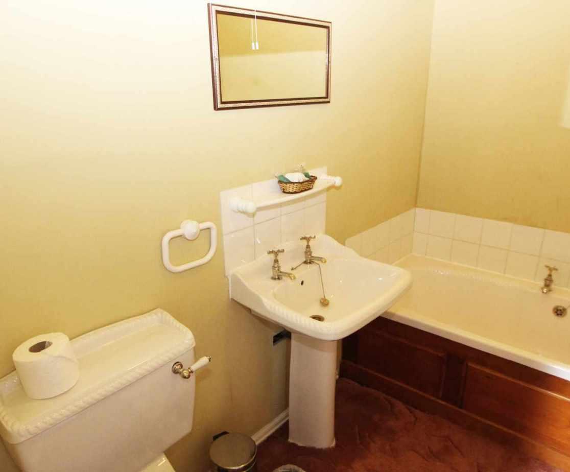 En suite bathroom for room no 6