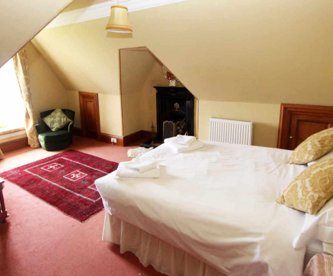 Room no 9, double bedroom on the second floor
