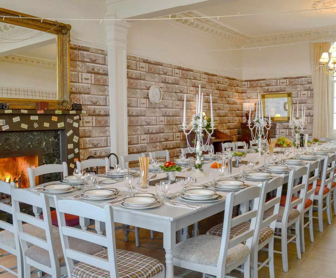 Wonderful dining room with space for all guests