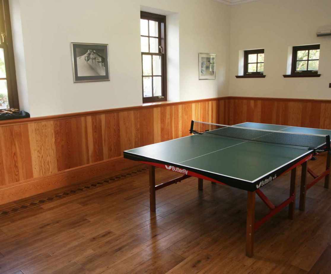 Guests can also enjoy the additional games room