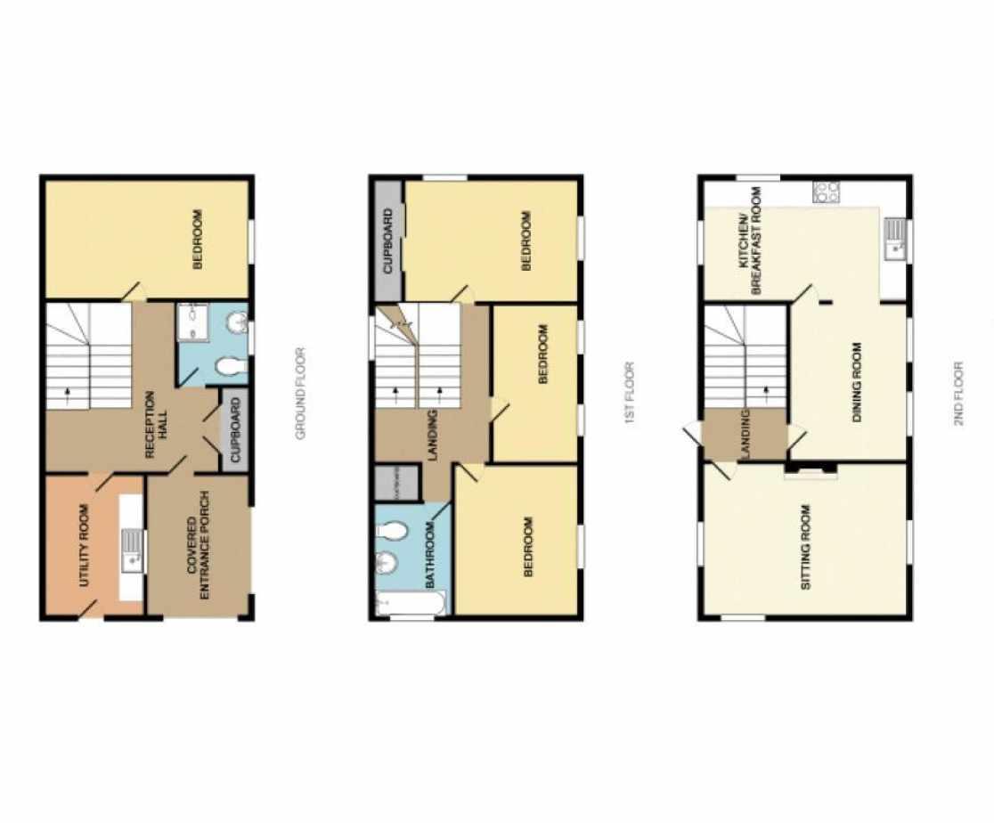 Driftwood Cottage Floor Plan