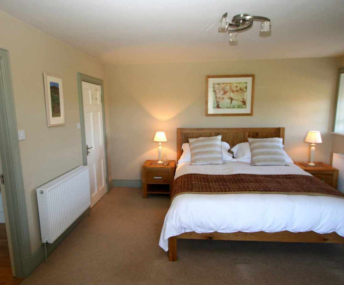 Room 5 is a king size double bedroom with en-suite bathroom