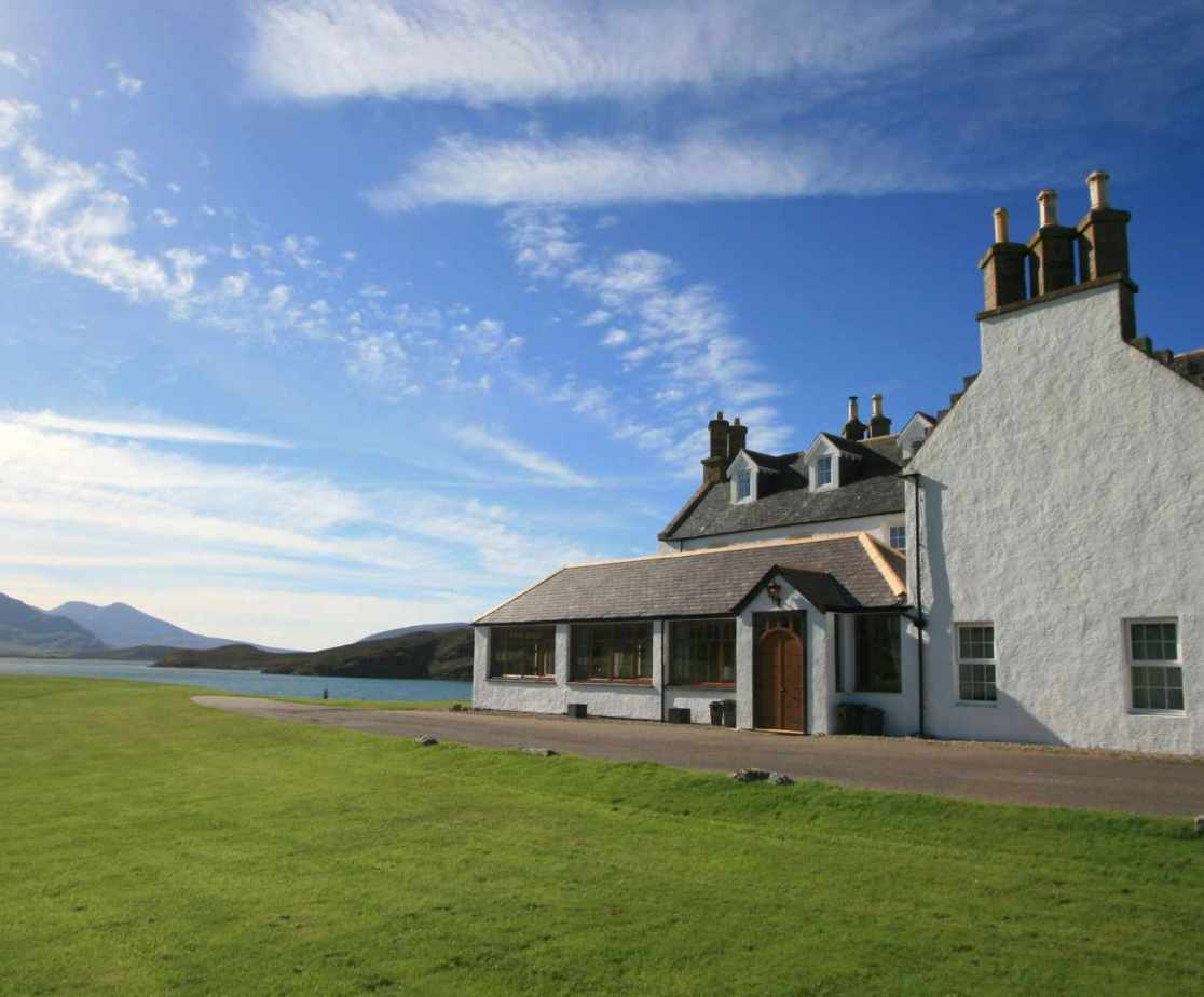 This south facing lodge overlooks one of the best views in Scotland