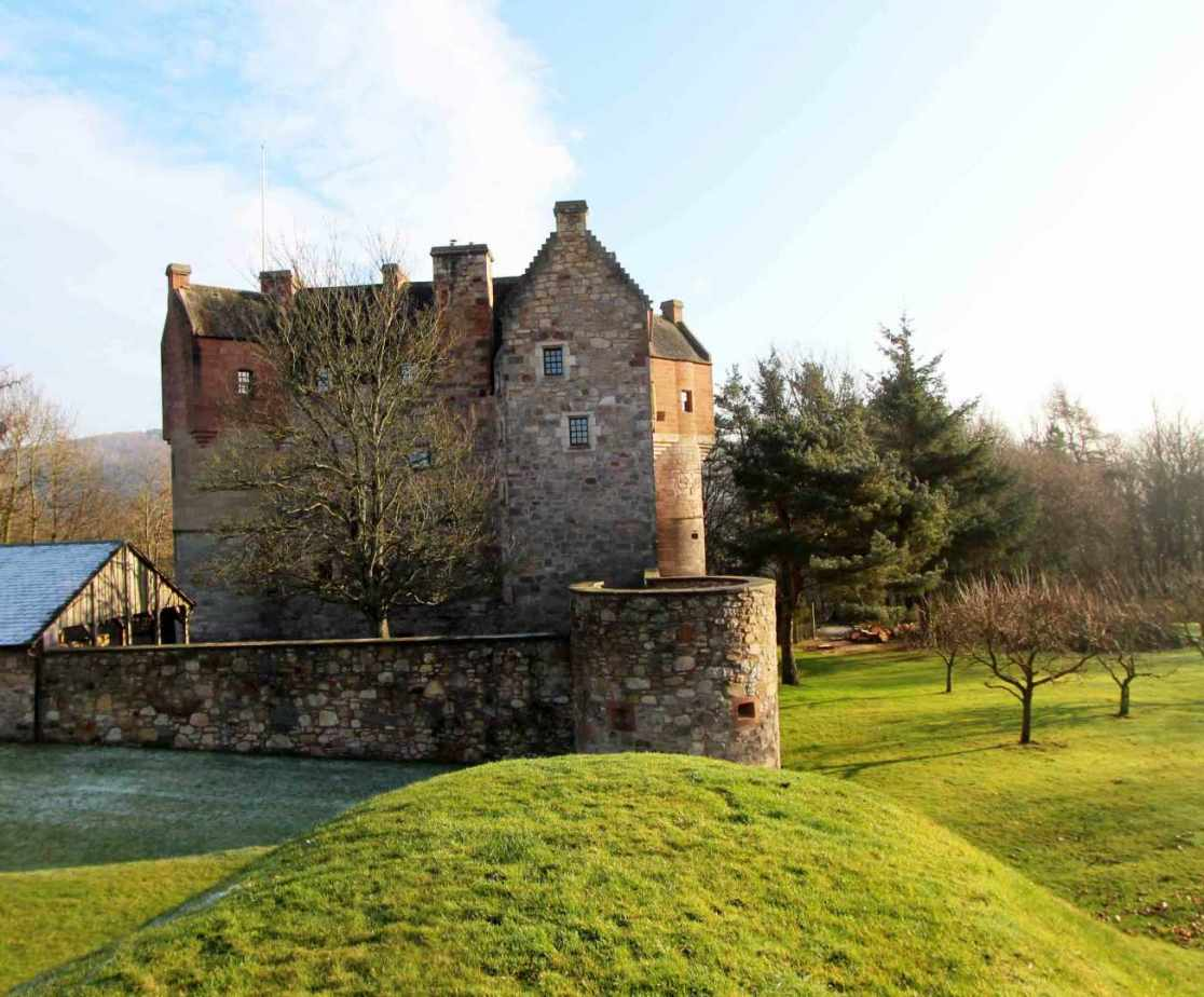 This unique restored castle is a memorable venue for groups of 14