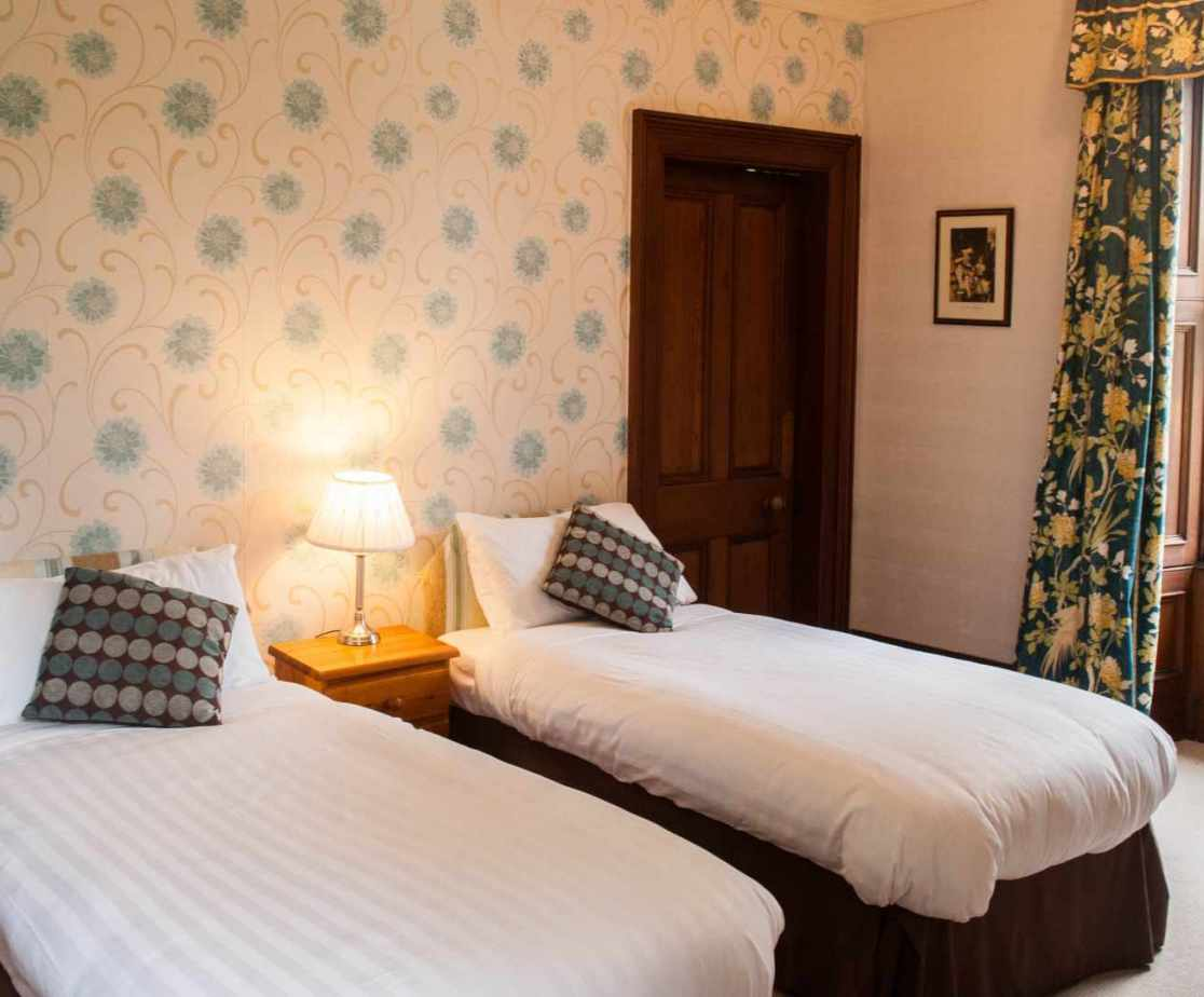 Room 2 is the first of the twin bedrooms