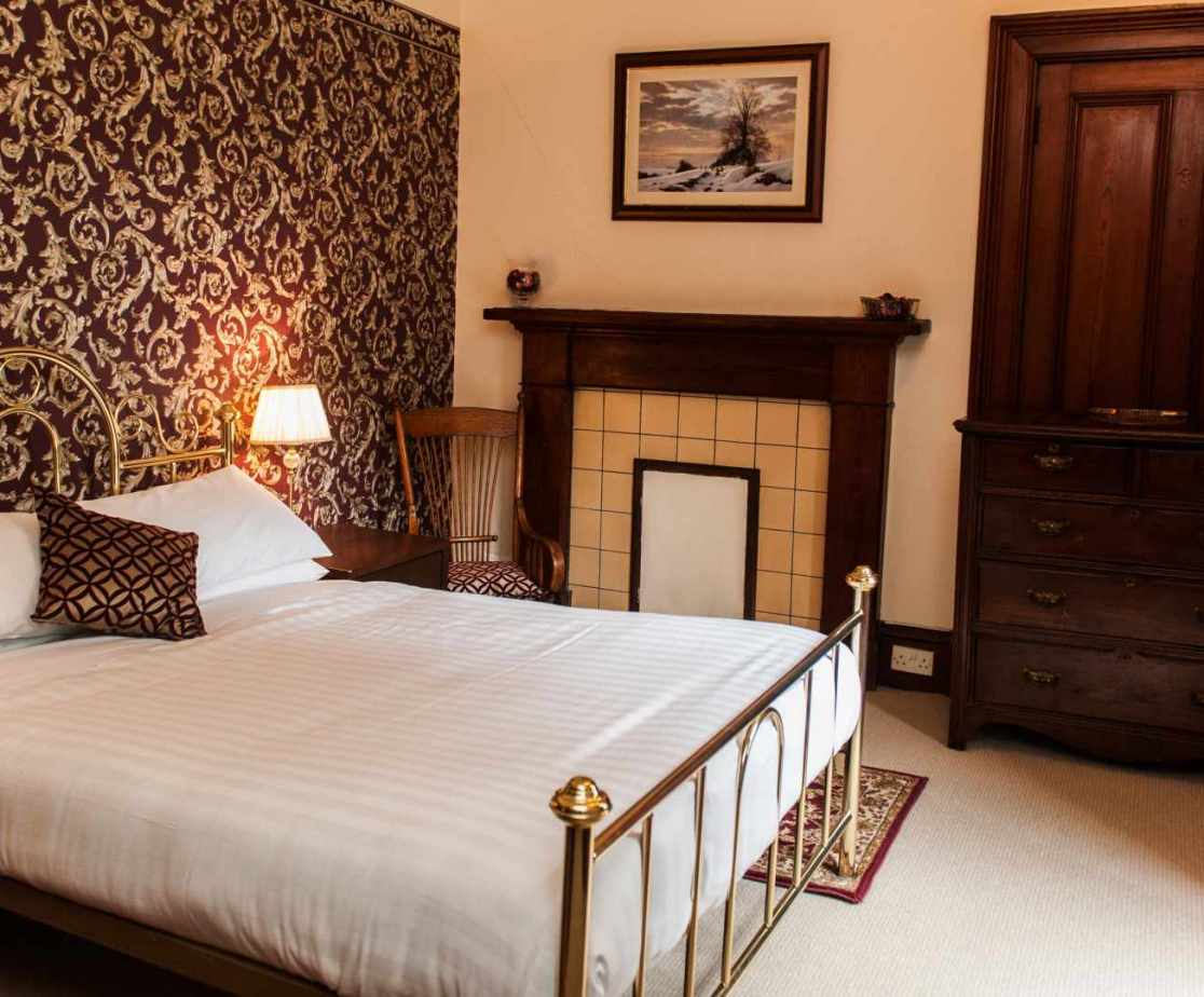 Room 3 is a comfortable double room with a great big bed