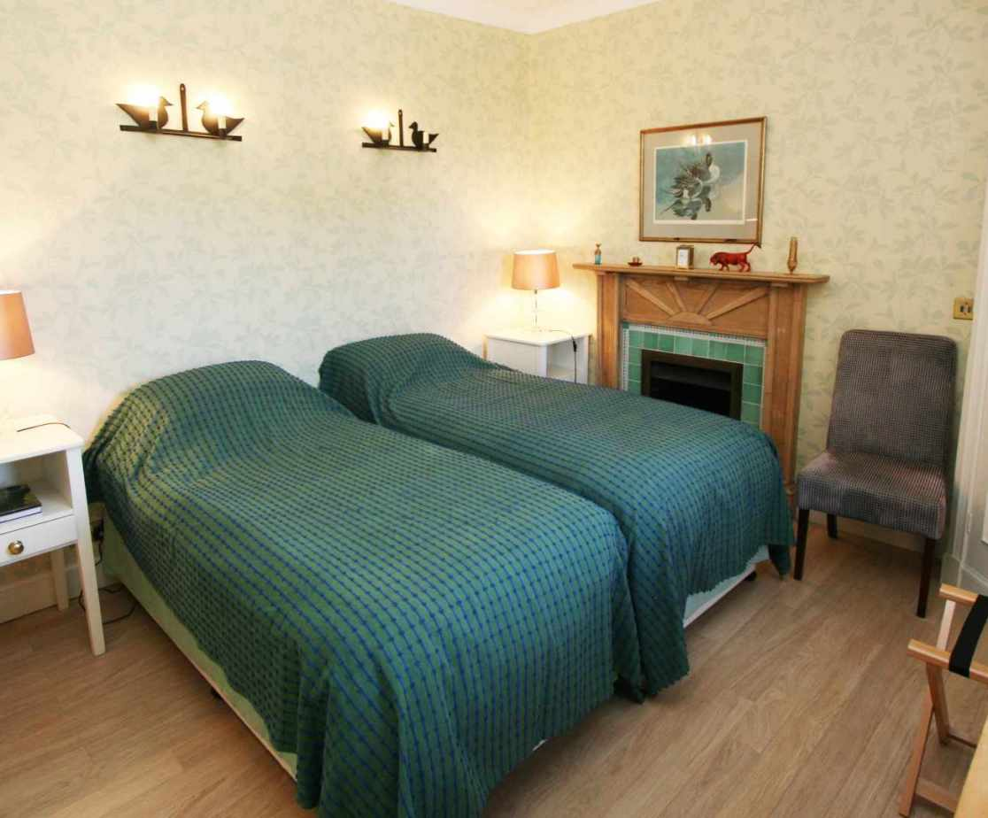 This is a lovely cottage with comfortable rooms
