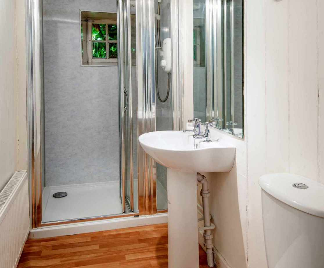 Shared shower room on the first floor