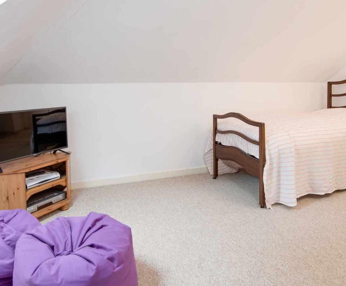 \'Attic1\' bedroom on the second floor