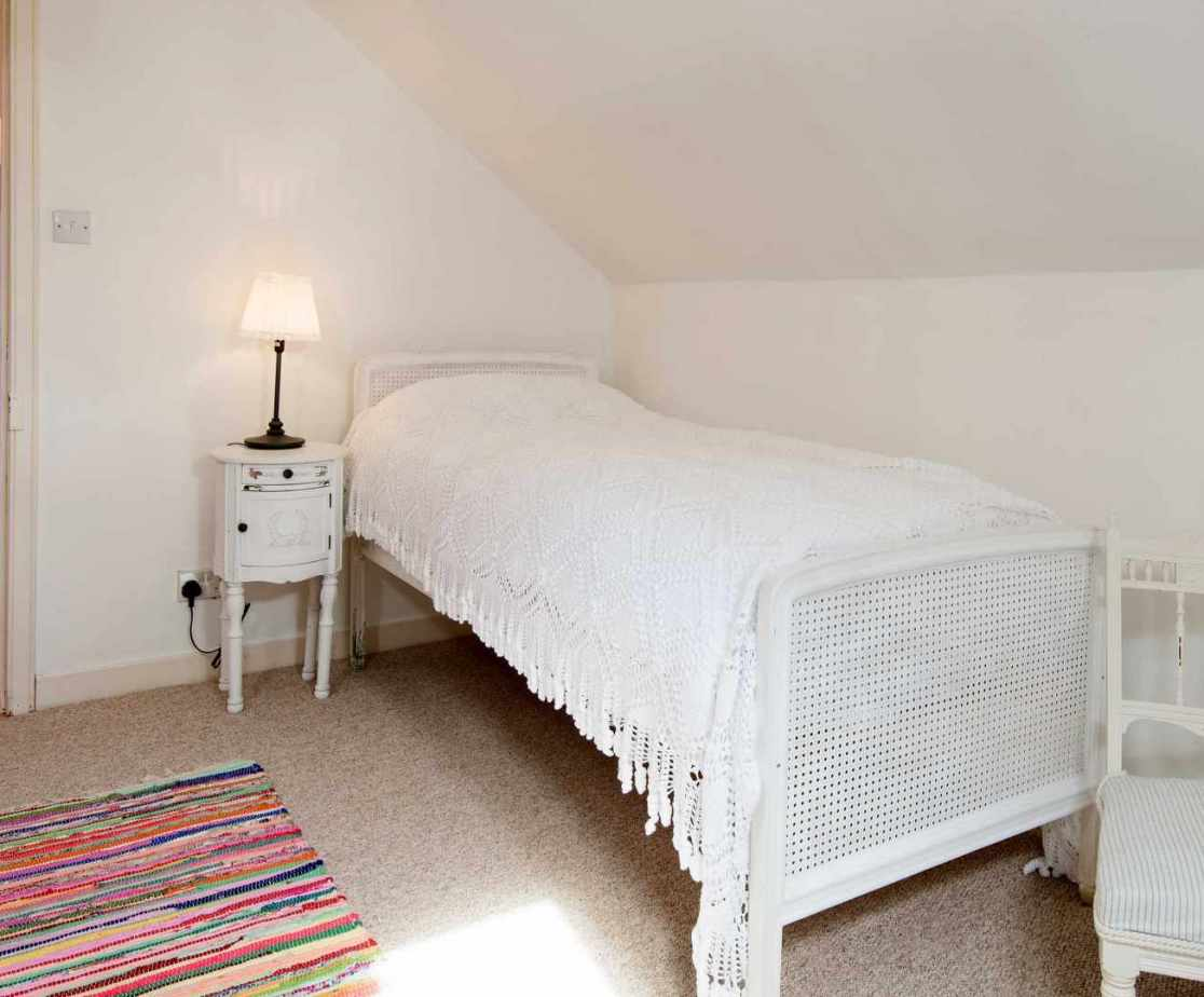 \'Attic 2\' bedroom on the second floor is for children only