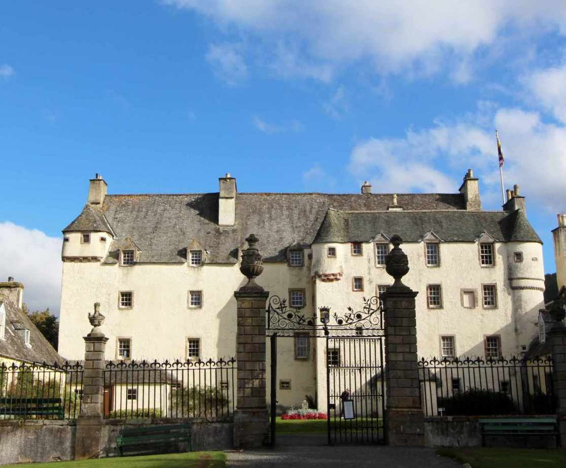 Traquair House is the main visitor attraction nearby