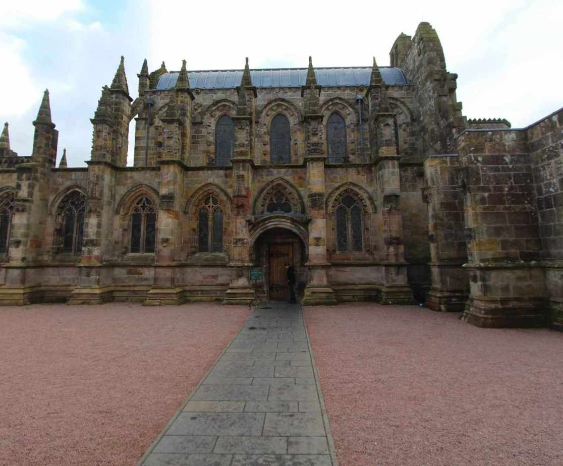 Discover Rosslyn Chapel at Roslin in Midlothian