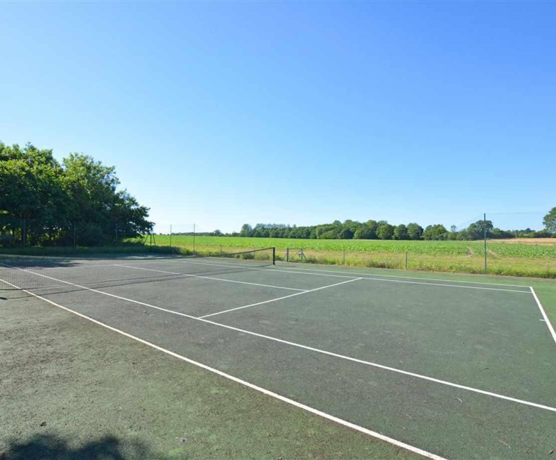 Tennis Court View 2