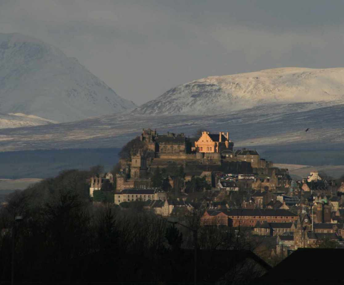 Stirling Castle is nearby