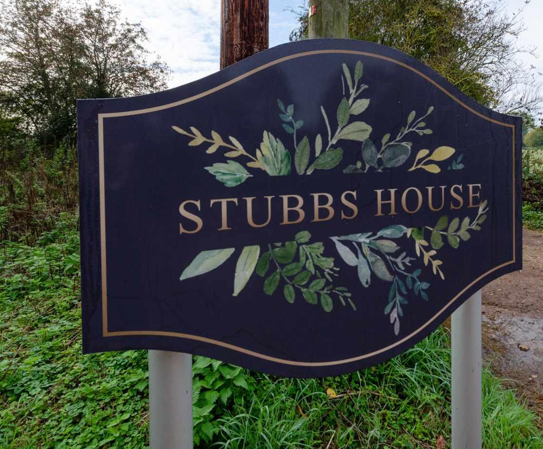 Stubbs House - Nameplate