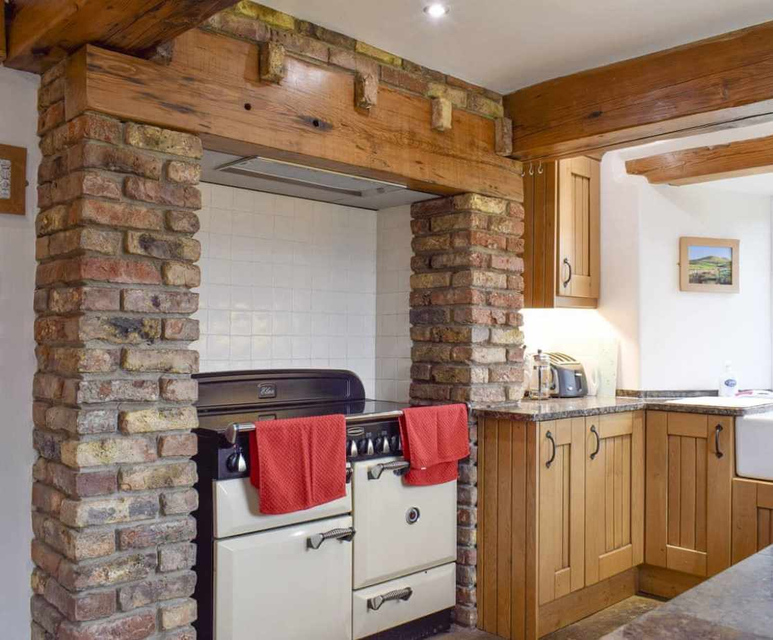 Range cooker within the kitchen
