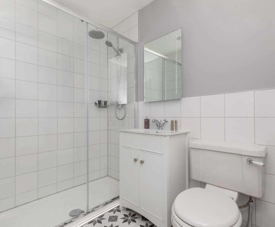 Shower room ensuite to Bedroom 4