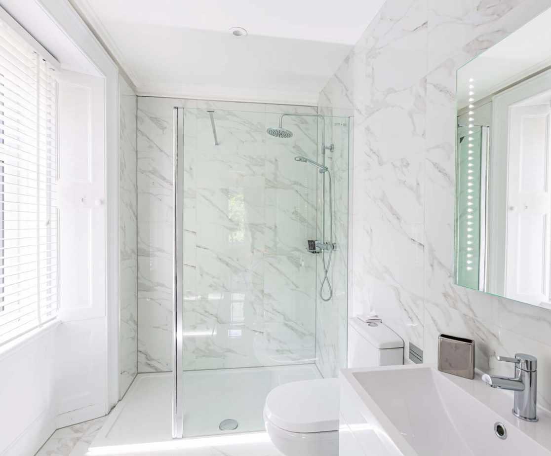 Shower room ensuite to Bedroom 2