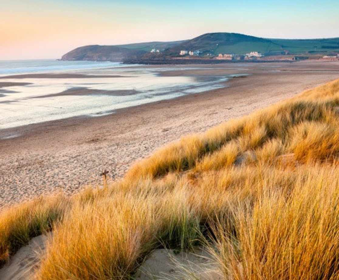 The beautiful beach of Croyde is just a short stroll away