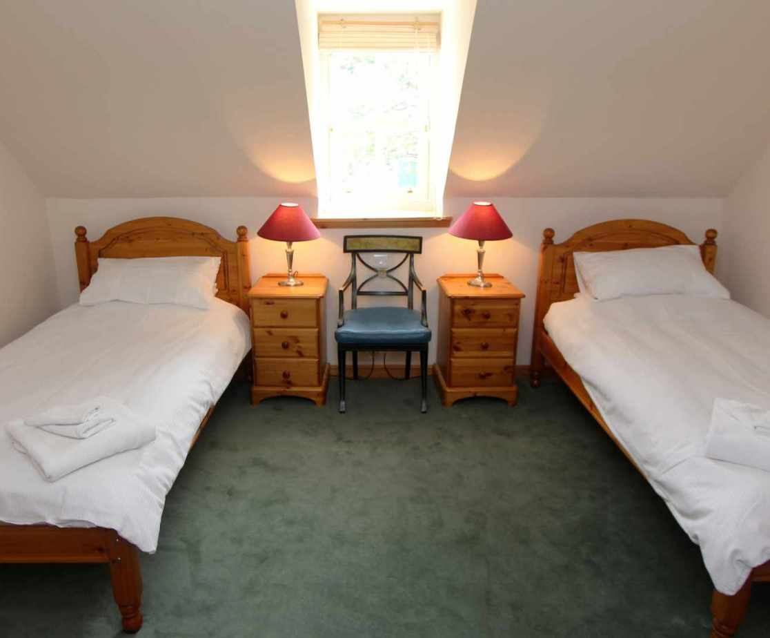 All of the twin rooms are bright and spacious