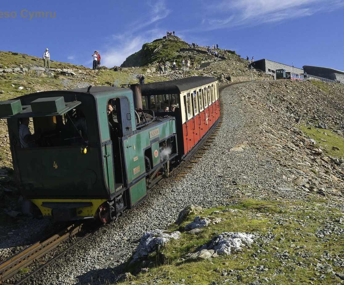 Steam train to the summit of Snowdon