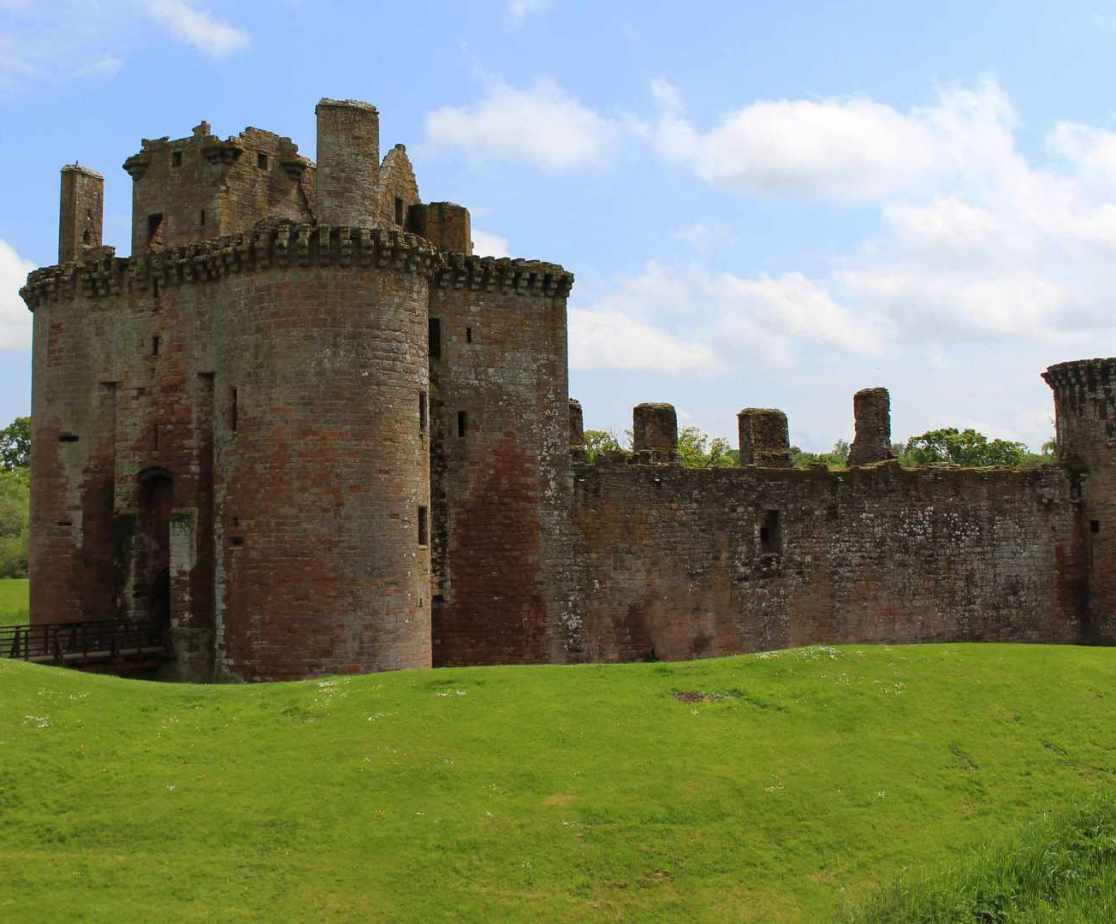 A visit to Caerlaverock Castle could be on the cards