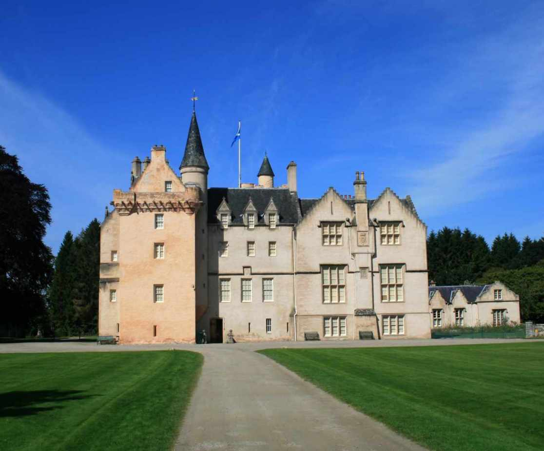 The \'Castle Trail\' is in the area with Brodie Castle the nearest