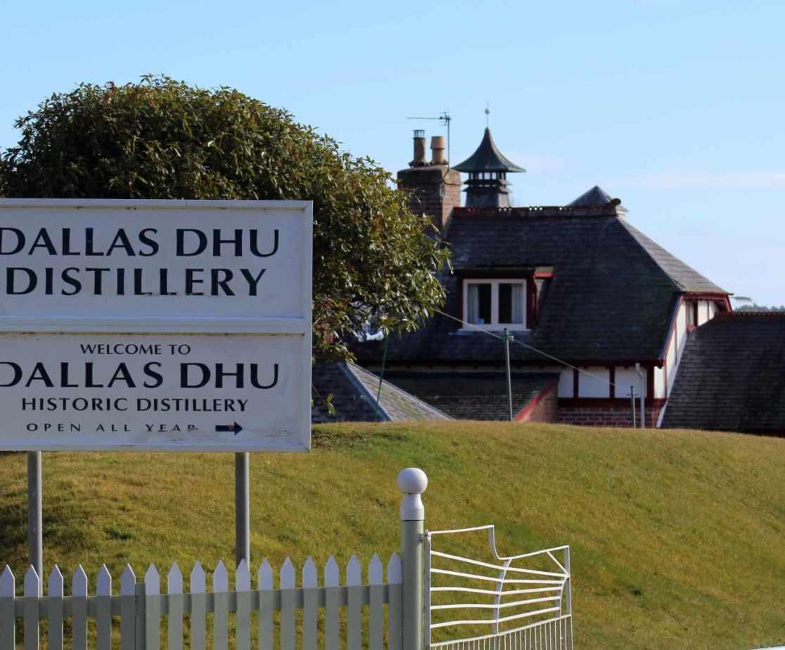 Dallas Dhu is the nearest distillery