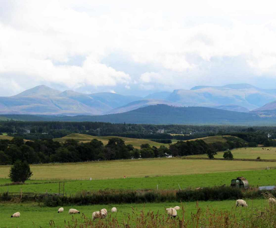 The Cairngorm National Park is a paradise in winter and summer