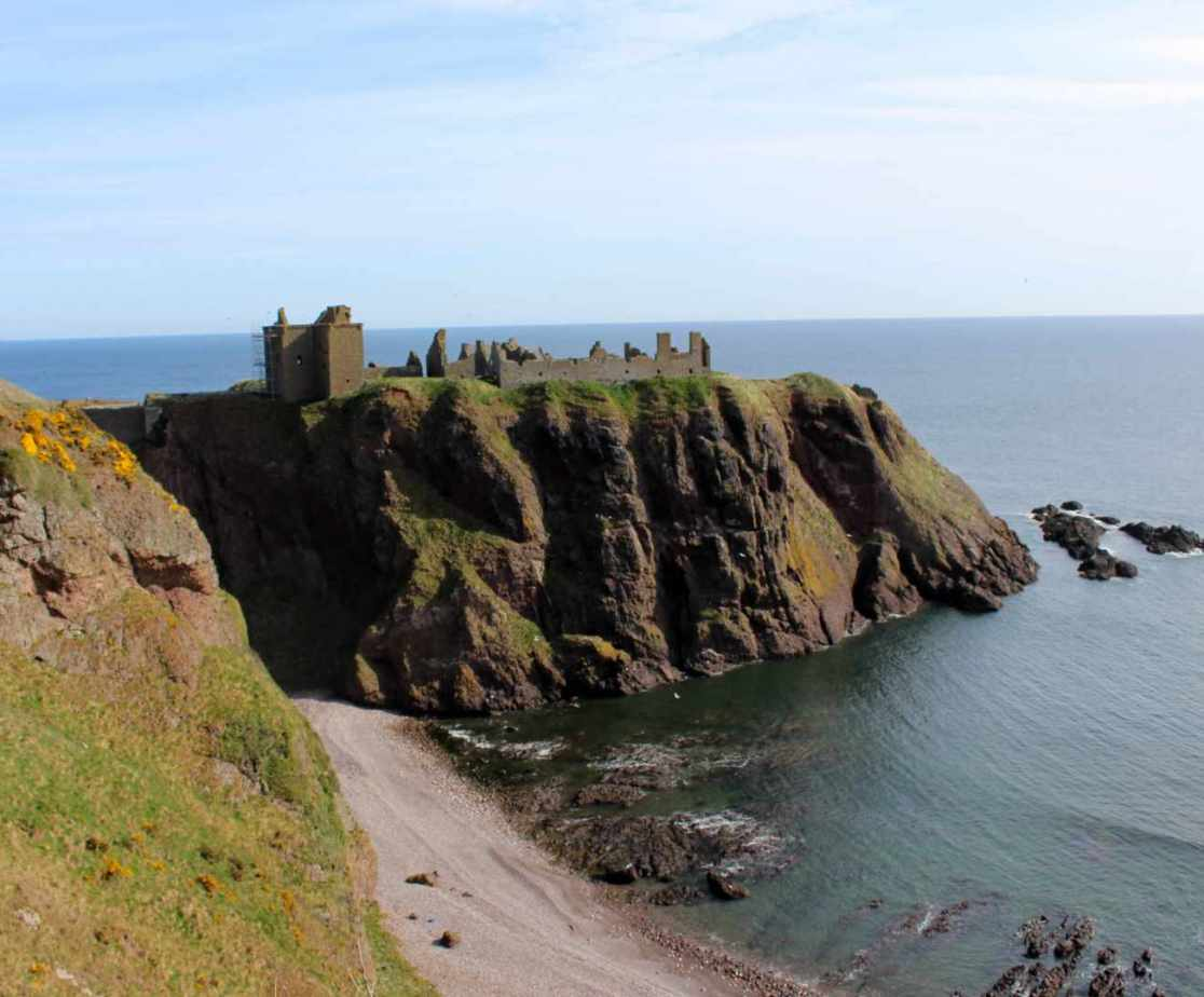 Dunnottar Castle is worth a visit