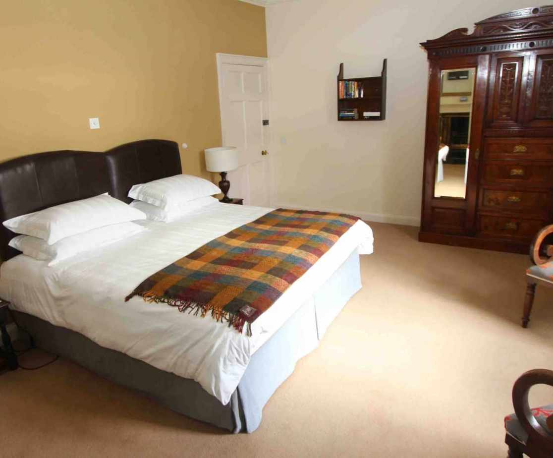 Room 1, a double or twin bedroom with en-suite