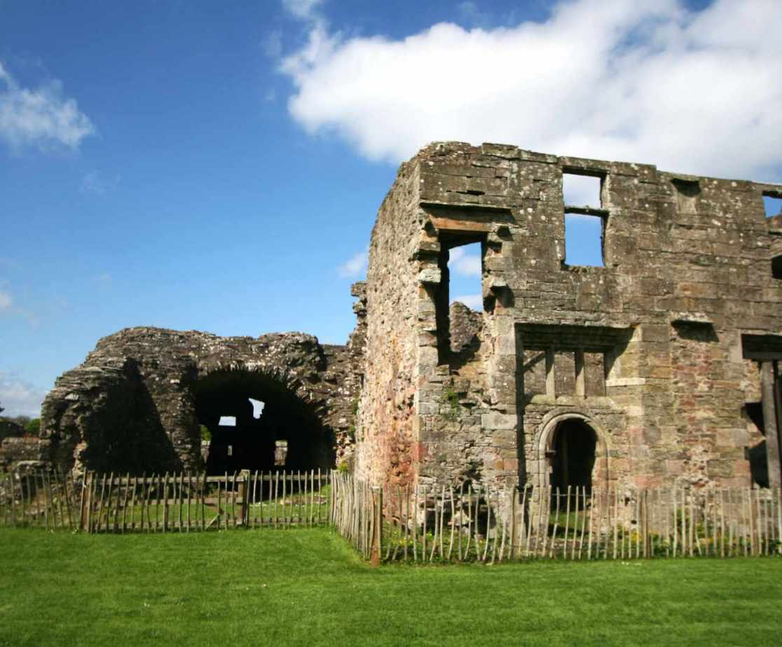 Balmerino Abbey is also worth a visit ...