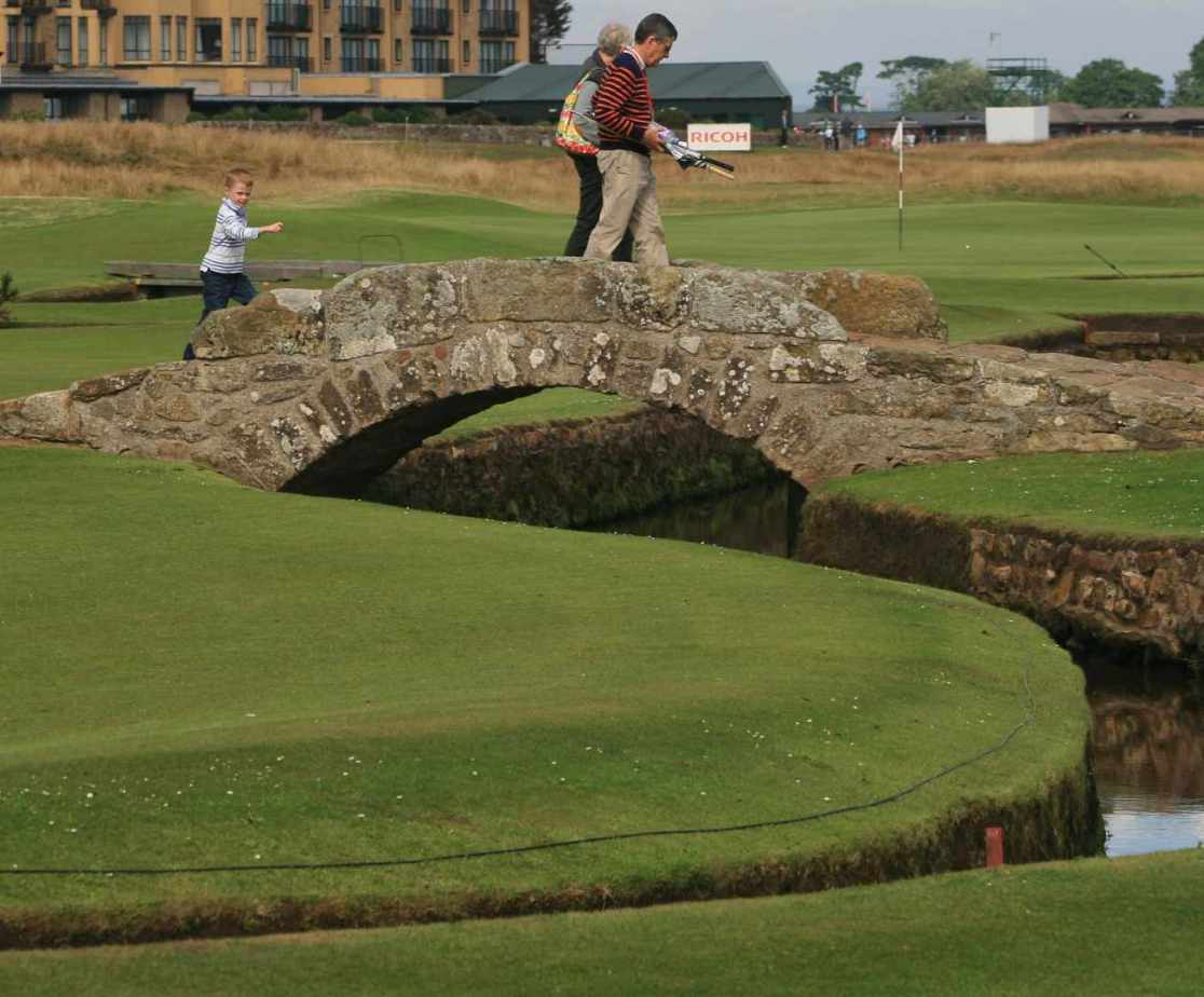 Walk in the footsteps of the golfing greats