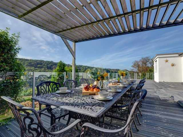 Spacious terrace area, perfect for outside dining